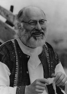 Paolo D'Arpini con gli occhaili 'anni 90 del secolo scorso