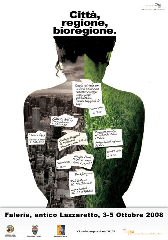 Risultati immagini per città regione bioregione faleria paolo d'arpini